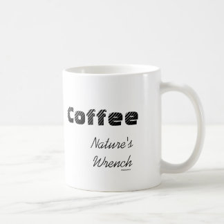 Naturen rycker häftig kaffemugg