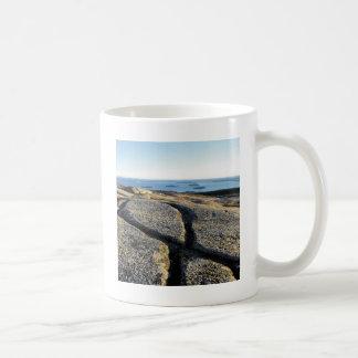 Naturen vaggar granit för sprickastrandyta kaffemugg