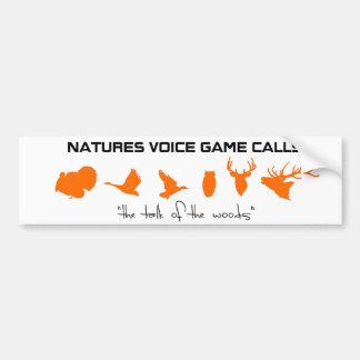 """Naturer uttrycker modiga appeller """"samtalet av bildekal"""