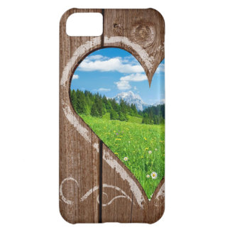 Naturkärlek - valentin dagiphone case iPhone 5C fodral