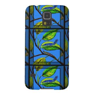 Naturkonst w/Caterpillar på fodral för Samsung Galaxy S5 Fodral