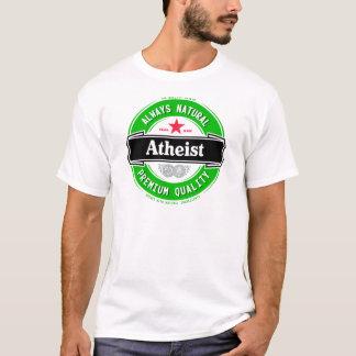 Naturlig ateist tee shirts