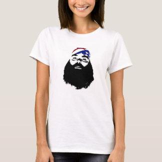 Naturlig dynasti för fullt skägg t-shirt