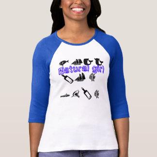 Naturlig flicka tee shirt