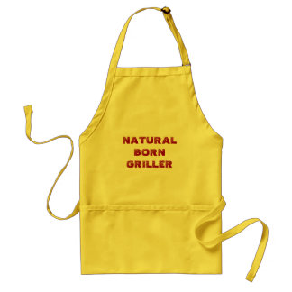 NATURLIG FÖDD GRILLER - förkläde