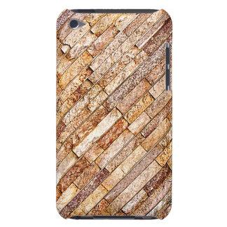 Naturlig Look för stenmarmortegelsten Barely There iPod Fodraler