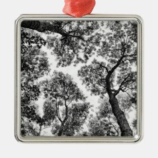 Naturlig passform (trädtoppar) julgransprydnad metall