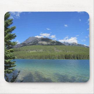 Naturliga Banff landskap musen vadderar Musmatta
