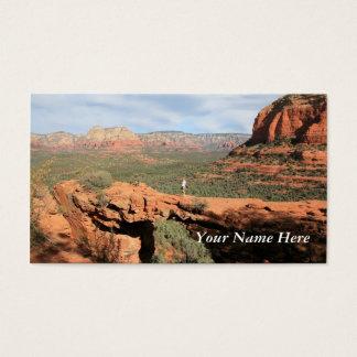 Naturliga stenbildande visitkort