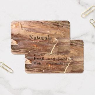 Naturliga visitkortar för skäll visitkort