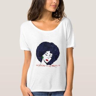 """""""Naturligt är skjortan för min skönhet"""" Tee Shirt"""