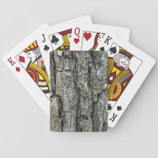 Naturligt gammalt grässkäll spelkort