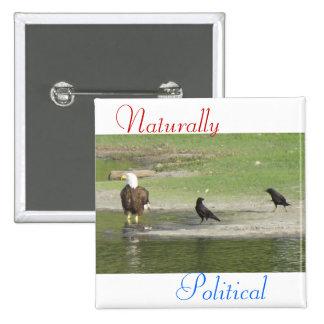 Naturligt politiska 2 nål