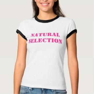 Naturligt val tshirts