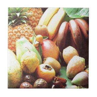 Naturs skottpengar, frukt och grönsaker kakelplatta