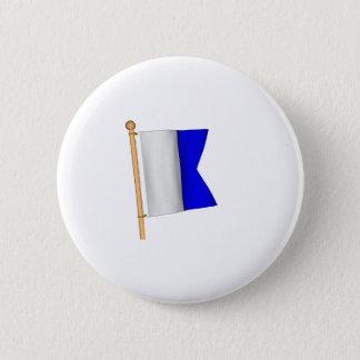 Nautisk flagga 'A Standard Knapp Rund 5.7 Cm