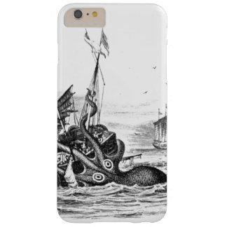 Nautisk steampunkbläckfiskvintage kraken barely there iPhone 6 plus skal