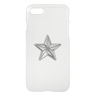 Nautisk stjärna för krom iPhone 7 skal