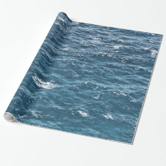 Nautiskt blåtthavvatten presentpapper