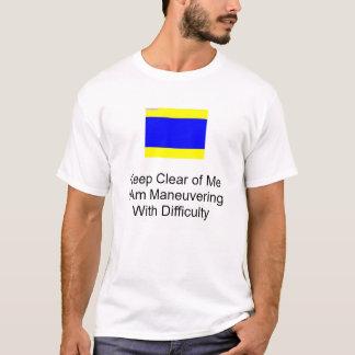 nautiskt signalera flagga tshirts