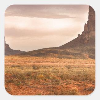 NavajonationKayenta monument Fyrkantigt Klistermärke