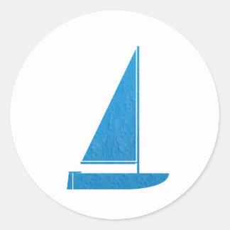 navinJOSHI för KONST NVN41 för segelbåt för Runt Klistermärke