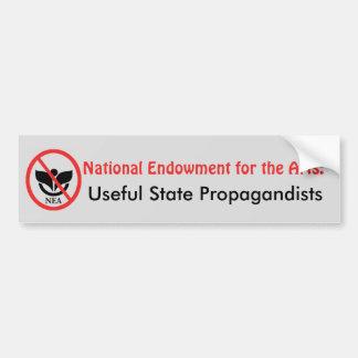 NEA Användbara statliga Propagandists Bildekal