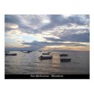 Nea Mechaniona - Makedonien Vykort