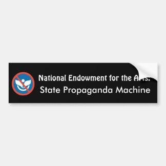 NEA: Statlig propagandamaskin Bildekal