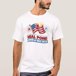 Neal damm 2014 - flagga t-shirts
