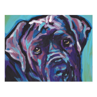 neapolitan konst för Mastiffhundpop Vykort
