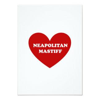 Neapolitan Mastiff 12,7 X 17,8 Cm Inbjudningskort