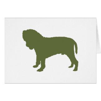 Neapolitan Mastiff Hälsningskort