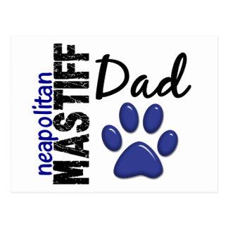 Neapolitan Mastiffpappa 2 Vykort