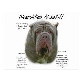 Neapolitan tawny) historiedesign för Mastiff ( Vykort