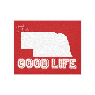 Nebraska - den bra livversionen 2 canvastryck