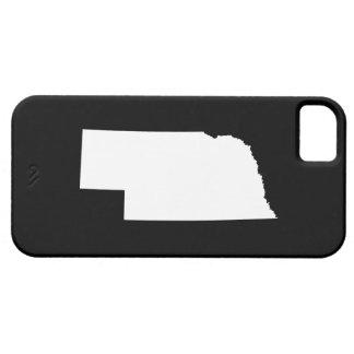 Nebraska i vit iPhone 5 fodral