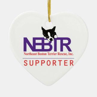 NEBTR-supporterprydnad Julgransprydnad Keramik
