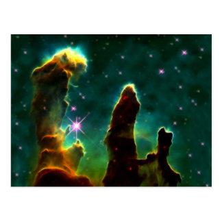 Nebula för örn M16 eller pelare av skapelsen Vykort