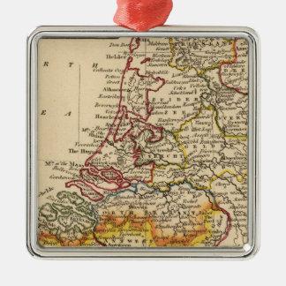 Nederländerna 3 julgransprydnad metall