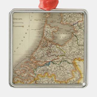 Nederländerna 7 julgransprydnad metall