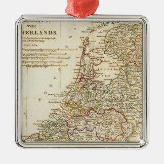 Nederländerna 9 julgransprydnad metall