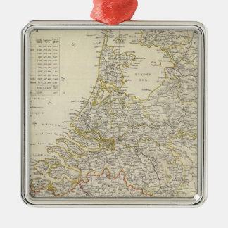 Nederländerna Belgien Julgransprydnad Metall