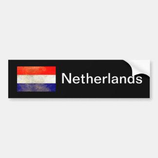 Nederländerna flagga bildekal