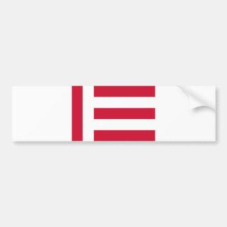 Nederländerna för Eindhoven stadsflagga Bildekal
