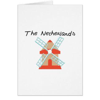 Nederländerna Hälsningskort