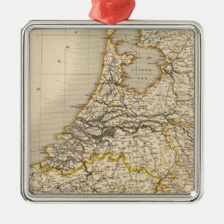Nederländerna och Belgien 2 Julgransprydnad Metall