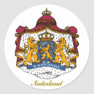 Nederländerna Runt Klistermärke