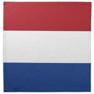 Nederländernaflagga på den MoJo servetten Tygservett