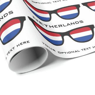 Nederländernan skuggar den beställnings- text- & presentpapper